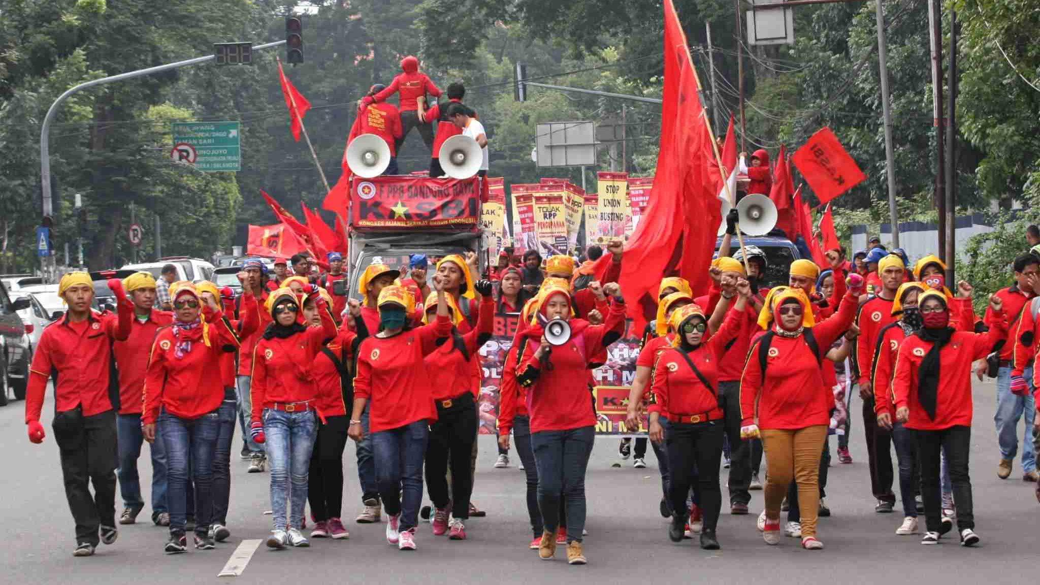 FAQ Hak Buruh Berdemonstrasi