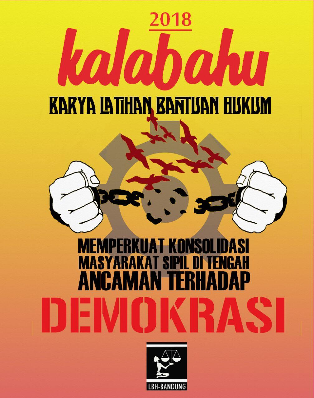 Hore! Pendaftaran KALABAHU 2018 LBH Bandung Resmi Dibuka