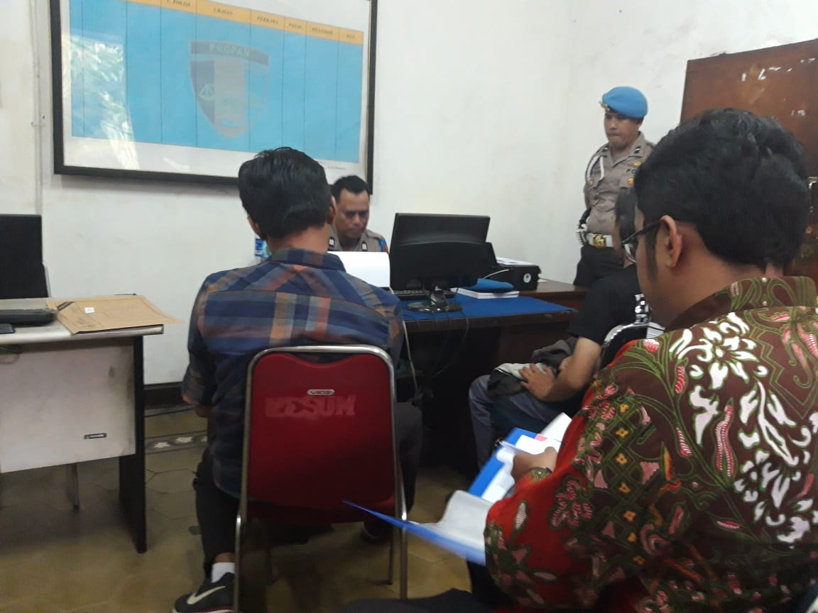 TAJI Desak Polisi Profesional Memproses Laporan Dua Jurnalis Korban Kekerasan Aparat